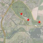 Les MarchenellesLe spot est situé au nord du Lac du Héron., tout au bout de la rue de Courtrai.vue large